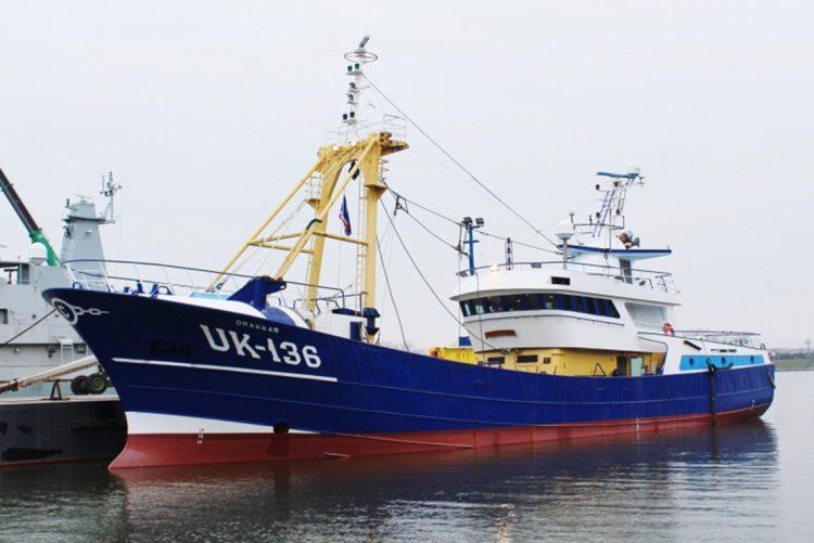 Consegnato a Van der Lee Seafish l'UK 136 'Drakkar'