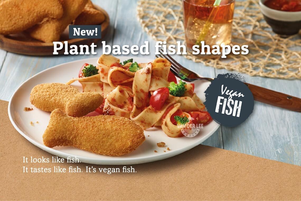 Nuovo da Van der Lee Seafish: PESCE VEGANO!